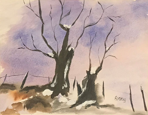Fall Squall by Gail Eckberg