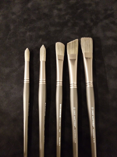 Big Brush Oil Set