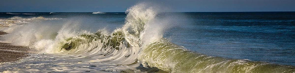 Crashing, Nauset Beach by Roberta Anslow