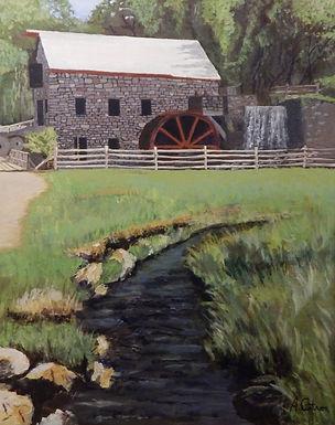 The Wayside Inn Grist Mill by Arthur Cintron