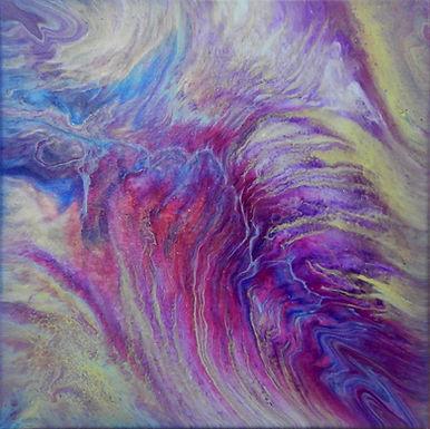 Paint Pour #27 by Jane Yates