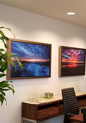 custom framing, corporate services, office art