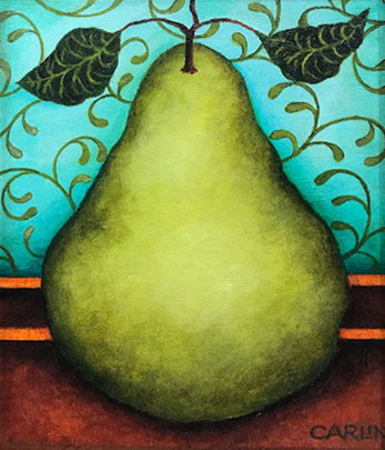 Pear 1 by Sue Carlin