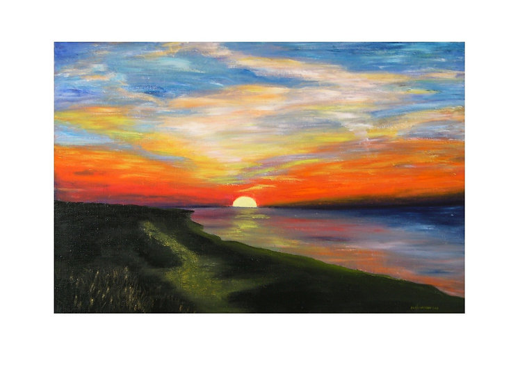 Truro Sunset - Sold