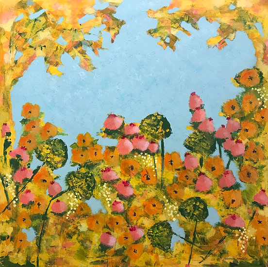 Jubilant Garden by Maryann Amodeo