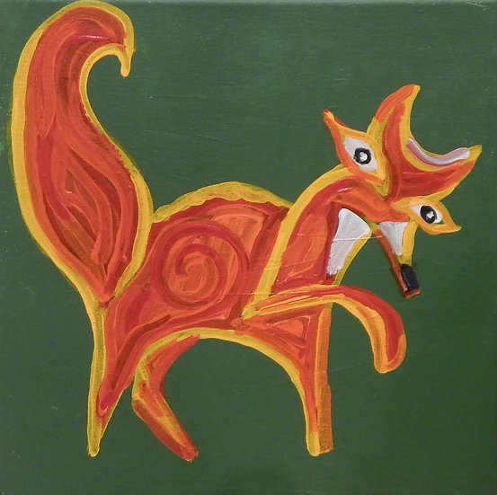 Fox by Carl Ristaino