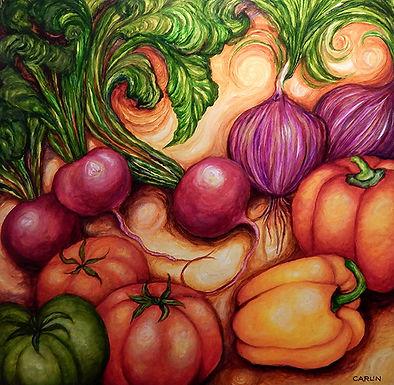 Farmers Market by Sue Carlin