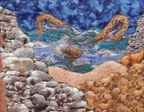 Sea Serpent by Tobi Hoffman