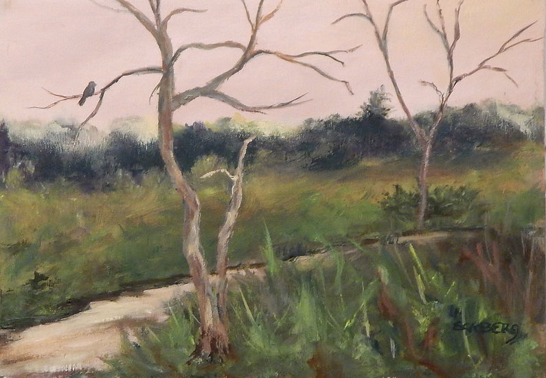 By The Creek by Gail Eckberg