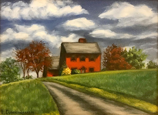 Red House by Evelyn Cunningham