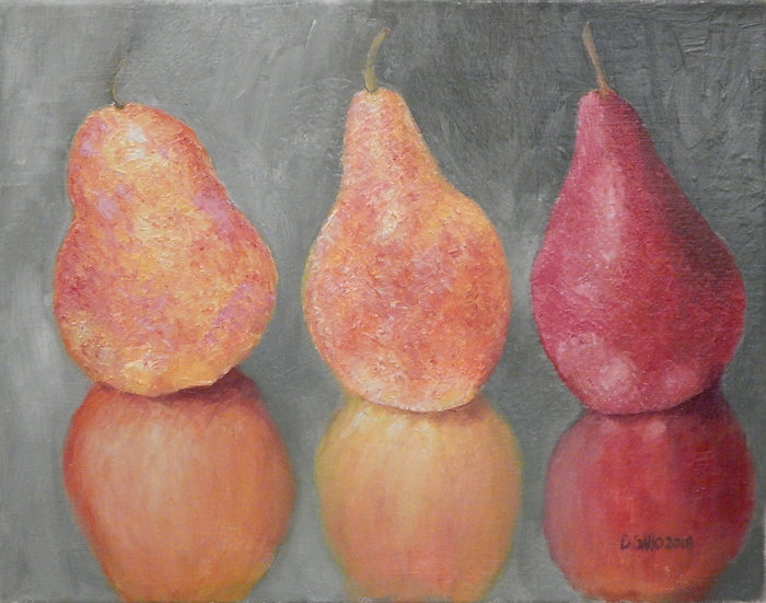 Pears by Diana Gallo