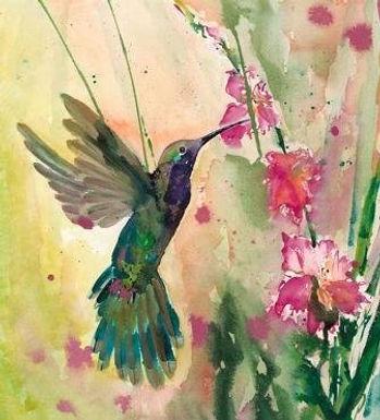 Iridescent Garden by Jodie Apeseche - Giclee