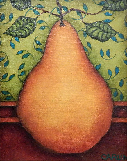 Pear 4 by Sue Carlin