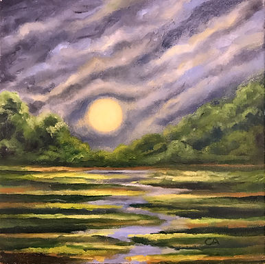 Harvest Moon by Sue Carlin