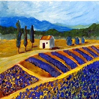 New Provence by Jodie Apeseche - Giclee