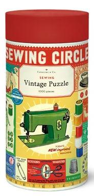 Cavallini & Co Vintage Sewing 1000 pc Puzzle