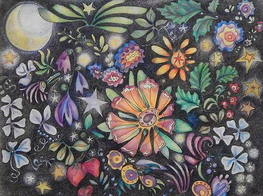 Moonflower Garden by Martha L. R. Goutal