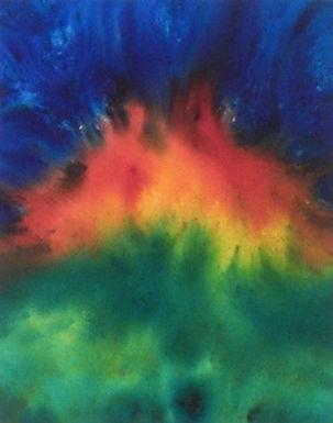 Eruption by Lina McLatchie
