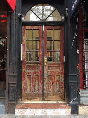 Door on Bleecker Street, New York City