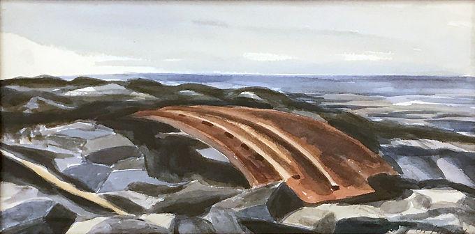 Lobster Cove Monhegan Island by Ivan Orlinsky