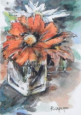 Red Blossom by Ralph Caputo