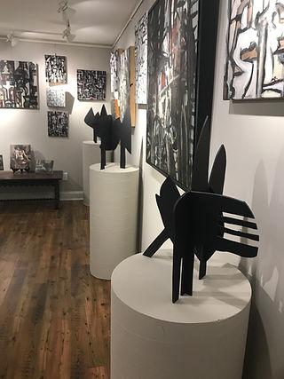 Solo Gallery Exhibit Bob Collins