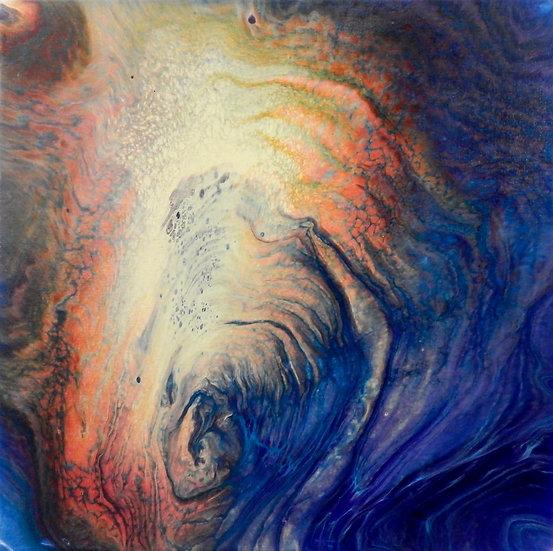 Paint Pour #16 by Jane Yates