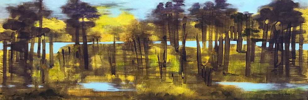 Wooded Marsh by Maryann Amodeo