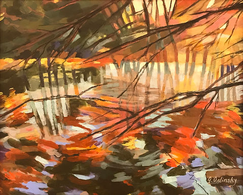 Concord Reflections by Gillian Orlinsky
