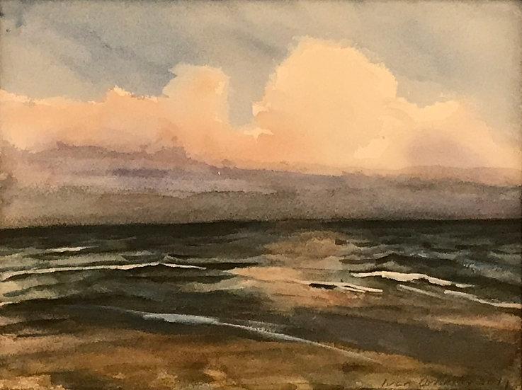 Atlantic Ocean Sky by Ivan Orlinsky