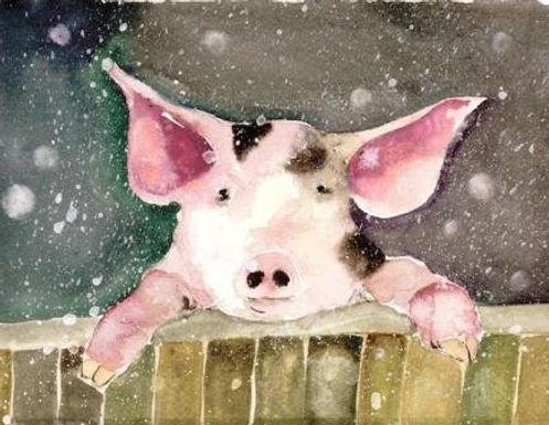 Winter Wonderland by Jodie Apeseche - Giclee