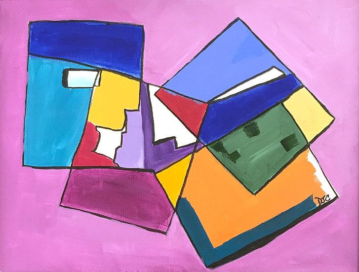 Squares of Joy by Debra Cassidy