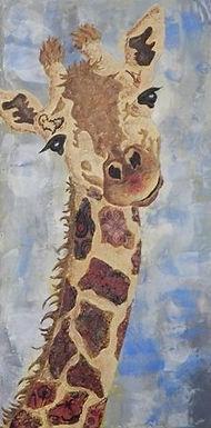 1st PLACE: Giraffe by Jackie O'Rourke