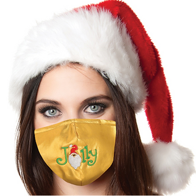 Reusable Face Mask by Snoozies! Jolly Christmas