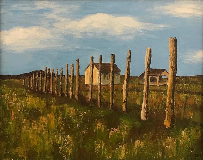 Prairie Reverie by Elizabeth D. Beloff