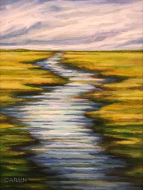 Morning Marsh by Sue Carlin