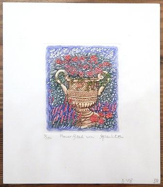 Flower Filled Urn by Stephen Whittle