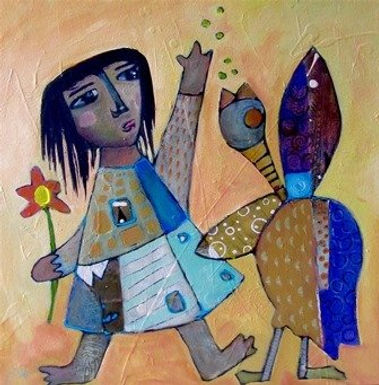 Bote and Ello by Jodie Apeseche- SOLD