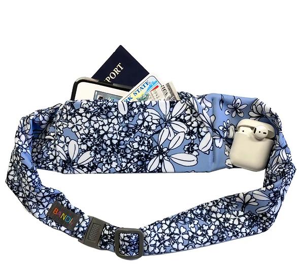 Large pocket belt, Wisteria by BANDI wear