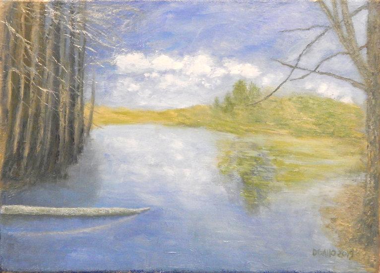 Pond Solitude by Diana Gallo