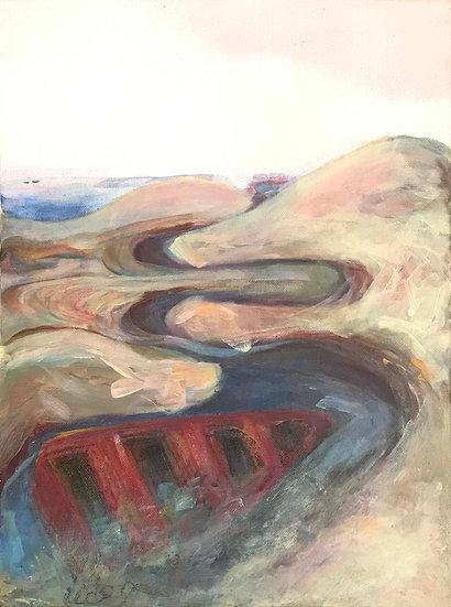 Seascape #2 by Christine Ledoux