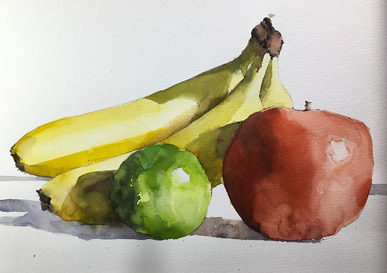 Zoom Online Watercolor Workshop with Michele Clamp- April 16th