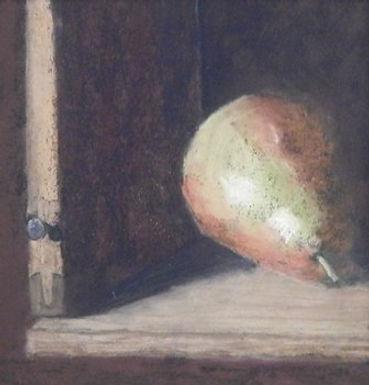 Solitary Pear by Tracy Sharakan