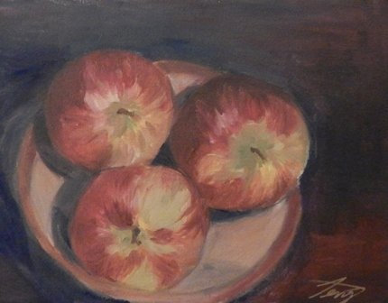 Apples by Terry Kessel Myers Coney