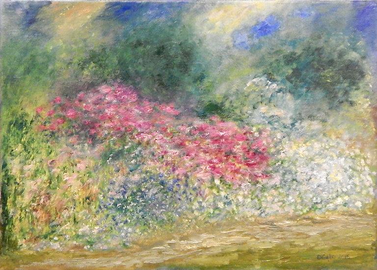 Flower Garden by Diana Gallo