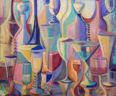 Happy Hour by Donna Fayad