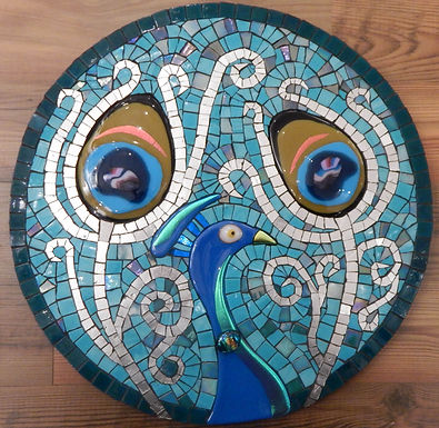 Peacock in the Round by Martin Cheek
