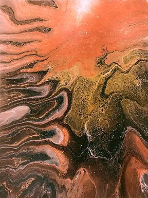 Arizona Creek Bed by Jane Yates