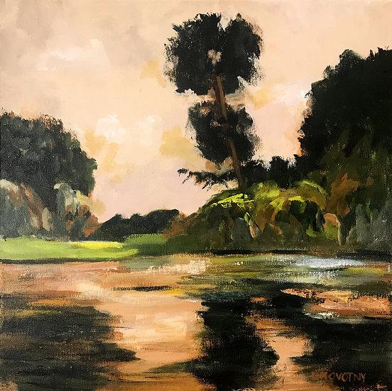 Quiet Pond by Lois Novotny