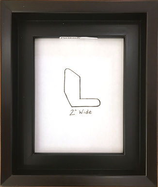 """Floater Frame #88 - 2"""" Black"""